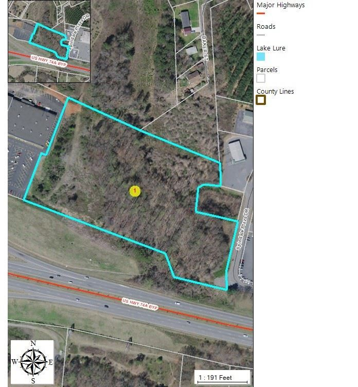Spindale Nc Map.Oakland Rd And Piney Ridge Rd Spindale Nc 28160 Lot Land