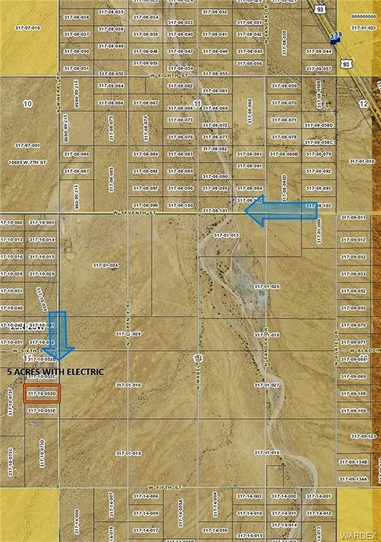 Dolan Springs Arizona Map.8 Gtac Tract 81 Dolan Springs Az 86441 Lot Land Mls 950580