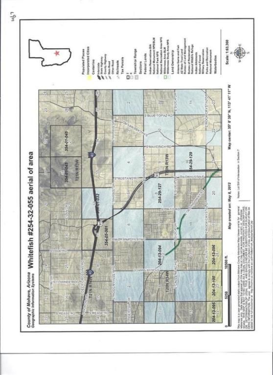 Map Of Arizona I40.Sw Of I 40 Hwy93 Intersection Kingman Az 86401 Lot Land Mls