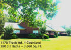 1178 Travis Rd, Courtland, MS 38620, $315,000 3 beds, 3.5 baths