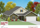 Cottagewood 2 Plan, Avilla, IN 46710, $168,350 3 beds, 2 baths